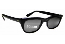 Sunglass Fix Sunglass Replacement Lenses for Zyloware Nylon - 50mm Wide