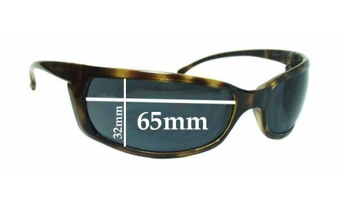 Sunglass Fix Sunglass Replacement Lenses for Arnette Slide AN4007 - 65mm Wide x 32mm Tall *Please measure as there is a height variation*
