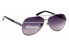 Sunglass Fix Sunglass Replacement Lenses for Armani Exchange AX 201/S - 60mm Wide