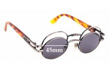 Sunglass Fix Sunglass Replacement Lenses for Boy London 90's Vintage - 45mm Wide
