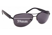 Sunglass Fix Sunglass Replacement Lenses for Bvlgari 5011 - 59mm Wide