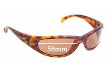 Sunglass Fix Sunglass Replacement Lenses for Calvin Klein CK3001 - 58mm Wide