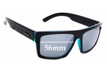 Sunglass Fix Sunglass Replacement Lenses for Carve Volley - 56mm Wide