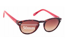 Sunglass Fix Sunglass Replacement Lenses for Cole Haan C6089 - 50mm Wide