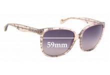 Sunglass Fix Sunglass Replacement Lenses for Dolce & Gabbana DD3090 - 59mm Wide