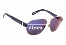 Sunglass Fix Sunglass Replacement Lenses for Dolce & Gabbana DG2117 - 61mm Wide