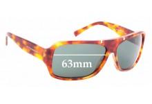 Sunglass Fix Sunglass Replacement Lenses for Dolce & Gabbana DG4044 - 63mm Wide