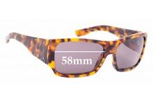Sunglass Fix Sunglass Replacement Lenses for Dolce & Gabbana DG4045 - 58mm Wide