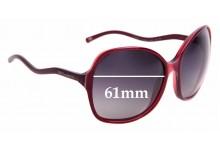 Sunglass Fix Sunglass Replacement Lenses for Dolce & Gabbana DG4059 - 61mm Wide