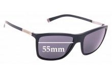 Sunglass Fix Sunglass Replacement Lenses for Dolce & Gabbana DG4210 Basalto Collection - 55mm Wide