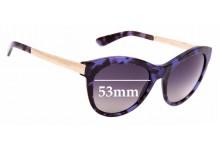 Sunglass Fix Sunglass Replacement Lenses for Dolce & Gabbana DG4243 - 53mm Wide