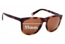 Sunglass Fix Sunglass Replacement Lenses for Dolce & Gabbana DG6102 - 55mm Wide
