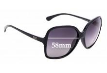Sunglass Fix Sunglass Replacement Lenses for Dolce & Gabbana DG8082 - 58mm Wide