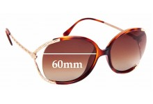 Sunglass Fix Sunglass Replacement Lenses for Fendi FS 5174 - 60mm Wide