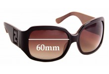 Sunglass Fix Sunglass Replacement Lenses for Fendi FS 5033 - 60mm Wide