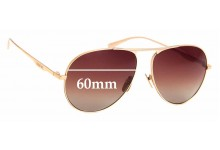Sunglass Fix Sunglass Replacement Lenses for Gucci GG 0334/S - 60mm Wide