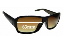 Sunglass Fix Sunglass Replacement Lenses for Gucci GG1033/F/S - 63mm Wide