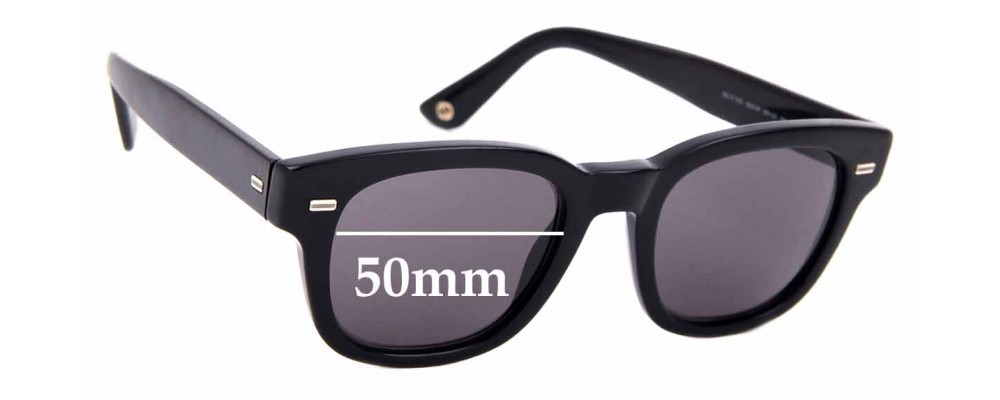 Sunglass Fix Sunglass Replacement Lenses for Gucci GG 1079/S - 50mm Wide