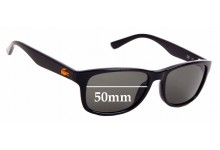 Sunglass Fix Sunglass Replacement Lenses for Lacoste L3601S - 50mm Wide