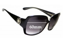 Sunglass Fix Sunglass Replacement Lenses for Marc by Marc Jacobs MMJ 207/F/S - 60mm Wide