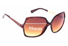 Sunglass Fix Sunglass Replacement Lenses for Marc by Marc Jacobs MMJ 122/S - 59mm Wide