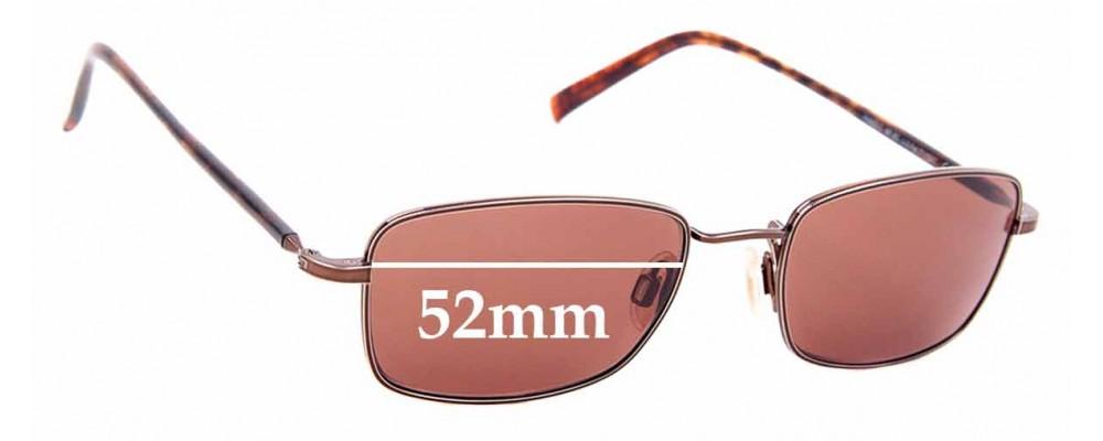 Sunglass Fix Sunglass Replacement Lenses for Maui Jim MJ712 Paniolo - 52mm Wide