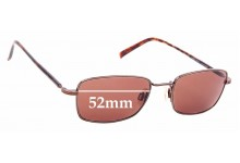 Sunglass Fix Sunglass Replacement Lenses for Maui Jim MJ712 Paniolo - 52mm Wide