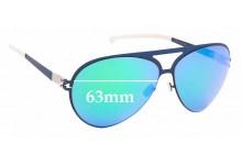 Sunglass Fix Sunglass Replacement Lenses for Mykita & Bernhard Willhelm Sepp - 63mm