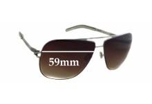 Sunglass Fix Sunglass Replacement Lenses for Mykita ROLF - 59mm Wide x 46mm Tall