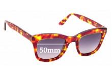 Sunglass Fix Sunglass Replacement Lenses for Nick Campbell Stringer - 50mm Wide