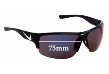 Sunglass Fix Sunglass Replacement Lenses for Nike Golf X2 EV0873 PRO E - 74mm Wide