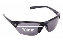 Sunglass Fix Sunglass Replacement Lenses for Nike Skylon ACE EV0525 - 70mm Wide