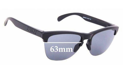 Sunglass Fix Sunglass Replacement Lenses for Oakley Frogskins Lite OO9374 - 63mm