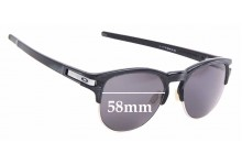 Sunglass Fix Sunglass Replacement Lenses for Oakley Latch Key OO9394 - 55mm Wide