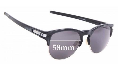 Sunglass Fix Sunglass Replacement Lenses for Oakley Latch Key OO9394 - 58mm Wide