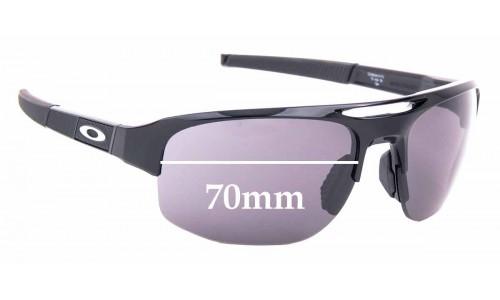 Sunglass Fix Sunglass Replacement Lenses for Oakley Mercenary OO9424 - 70mm Wide