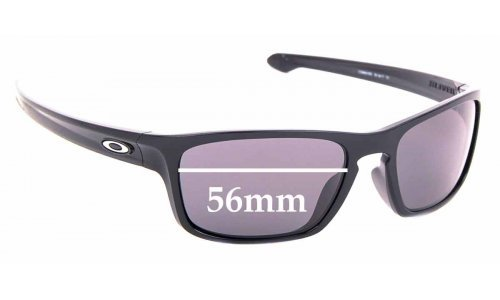 Sunglass Fix Sunglass Replacement Lenses for Oakley Sliver OO9408 - 56mm Wide