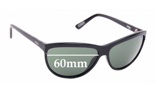 Sunglass Fix Sunglass Replacement Lenses for Otis Milo - 63mm Wide