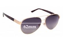 Sunglass Fix Sunglass Replacement Lenses for Prada RAM4035AA - 62mm Wide