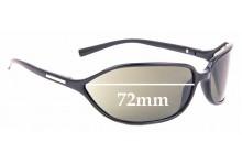 Sunglass Fix Sunglass Replacement Lenses for Prada SPR05E - 72mm Wide