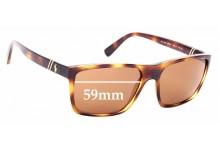 Sunglass Fix Sunglass Replacement Lenses for Ralph Lauren Polo PH 4133 - 59mm Wide