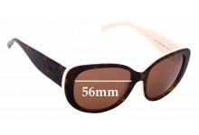 Sunglass Fix Sunglass Replacement Lenses for Ralph Lauren RL 8114 - 56mm Wide