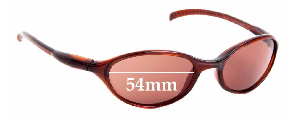 Sunglass Fix Sunglass Replacement Lenses for Ray Ban RB2045 Cutters - 54mm Wide
