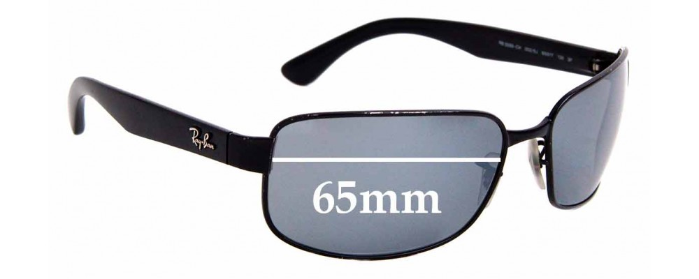 Sunglass Fix Sunglass Replacement Lenses for Ray Ban RB3566 - 65mm Wide