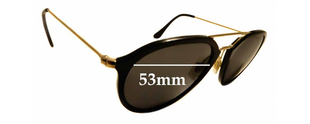 Sunglass Fix Sunglass Replacement Lenses for Ray Ban RB4253 - 53mm Wide