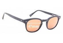 Sunglass Fix Sunglass Replacement Lenses for Rixx Melrose 47mm Wide