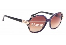 Sunglass Fix Sunglass Replacement Lenses for Roberto Cavalli Menkib 903S - 58mm Wide