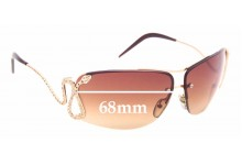 Sunglass Fix Sunglass Replacement Lenses for Roberto Cavalli Maia 152S - 68mm Wide
