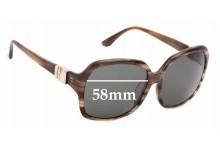 Sunglass Fix Sunglass Replacement Lenses for Salvatore Ferragamo SF653SA - 58mm Wide