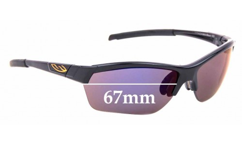 Sunglass Fix Sunglass Replacement Lenses for Smith Approach Max - 67mm Wide